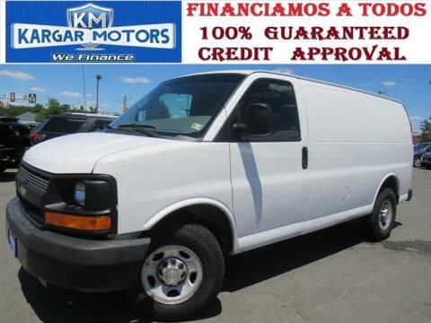 2013 Chevrolet Express Cargo for sale at Kargar Motors of Manassas in Manassas VA