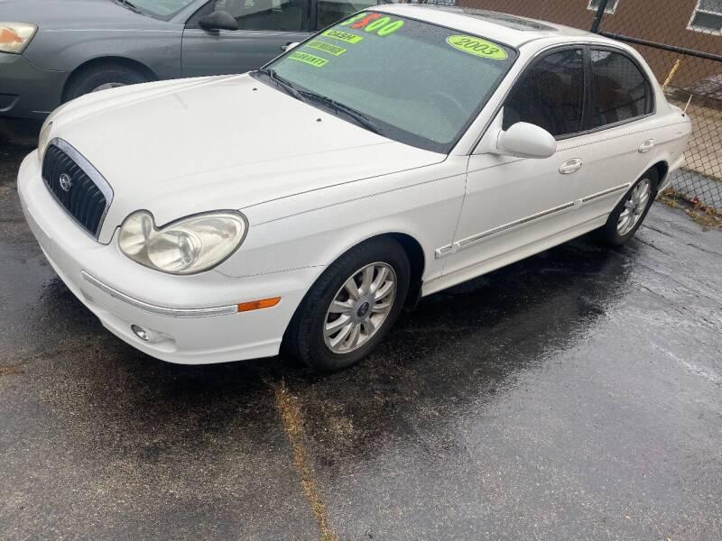 2003 Hyundai Sonata for sale at Double Take Auto Sales LLC in Dayton OH