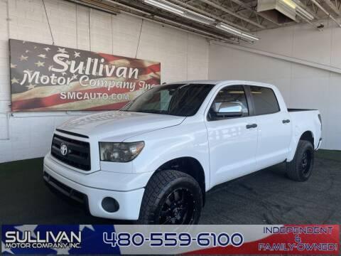 2012 Toyota Tundra for sale at SULLIVAN MOTOR COMPANY INC. in Mesa AZ
