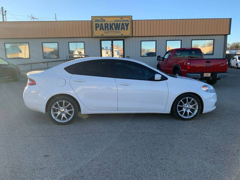 2013 Dodge Dart for sale at Parkway Motors in Springfield IL