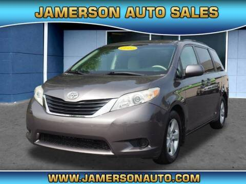 2011 Toyota Sienna for sale at Jamerson Auto Sales in Anderson IN