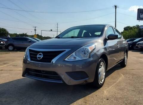 2018 Nissan Versa for sale at International Auto Sales in Garland TX