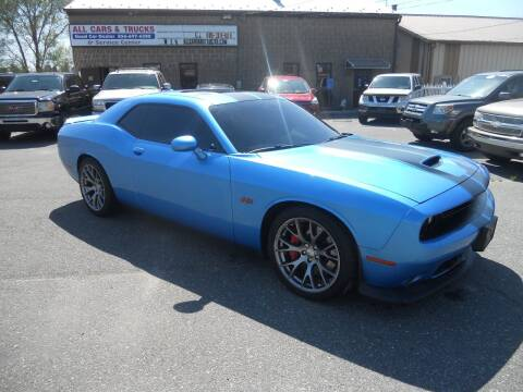 2016 Dodge Challenger for sale at All Cars and Trucks in Buena NJ
