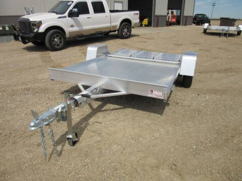 "2021 Aluma 72"" x 10 for sale at Nore's Auto & Trailer Sales - Utility Trailers in Kenmare ND"