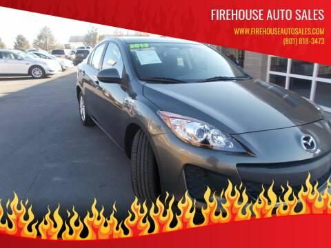 2013 Mazda MAZDA3 for sale at Firehouse Auto Sales in Springville UT