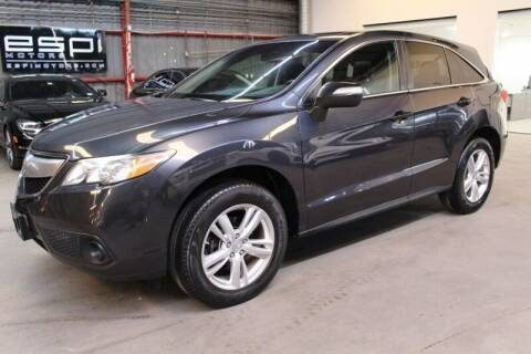 2014 Acura RDX for sale at ESPI Motors in Houston TX