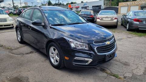 2015 Chevrolet Cruze for sale at Green Ride Inc in Nashville TN