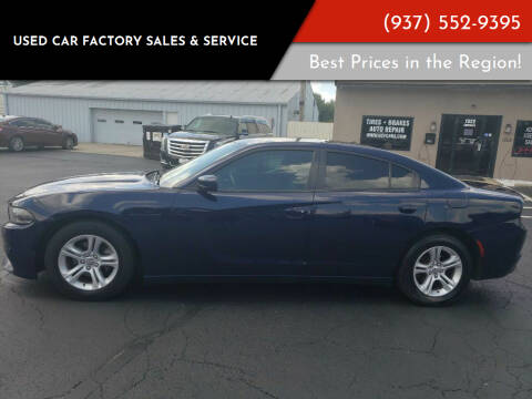 2015 Dodge Charger for sale at Used Car Factory Sales & Service Troy in Troy OH