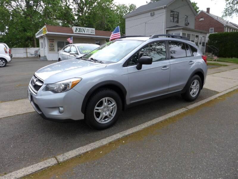 2015 Subaru XV Crosstrek for sale at FBN Auto Sales & Service in Highland Park NJ