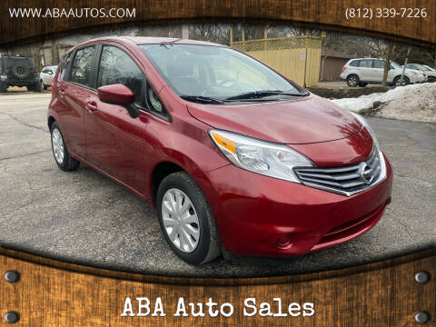 2016 Nissan Versa Note for sale at ABA Auto Sales in Bloomington IN