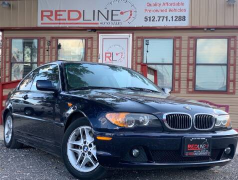 2004 BMW 3 Series for sale at REDLINE AUTO SALES LLC in Cedar Creek TX