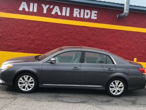 2012 Toyota Avalon for sale at Big Daddy's Auto in Winston-Salem NC