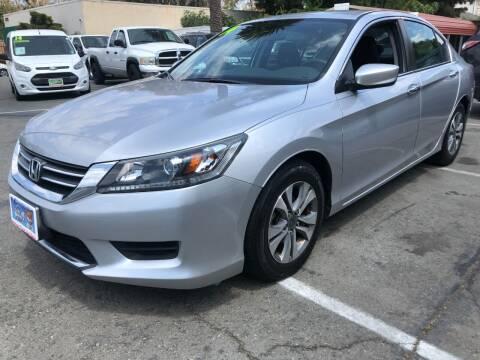 2014 Honda Accord for sale at Martinez Truck and Auto Sales in Martinez CA