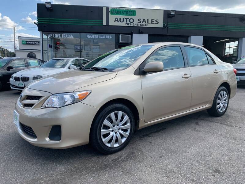 2012 Toyota Corolla for sale at Wakefield Auto Sales of Main Street Inc. in Wakefield MA