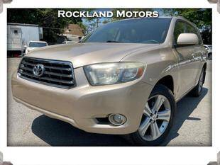 2008 Toyota Highlander for sale at Rockland Automall - Rockland Motors in West Nyack NY