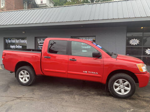 2012 Nissan Titan for sale at Auto Credit Connection LLC in Uniontown PA