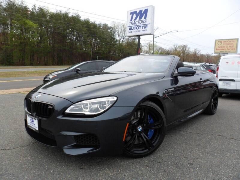 2016 BMW M6 for sale at AUTOTYM INC in Fredericksburg VA