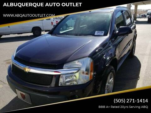 2006 Chevrolet Equinox for sale at ALBUQUERQUE AUTO OUTLET in Albuquerque NM