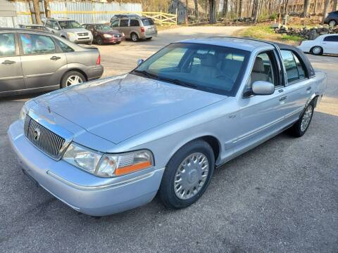 2003 Mercury Grand Marquis for sale at STURBRIDGE CAR SERVICE CO in Sturbridge MA