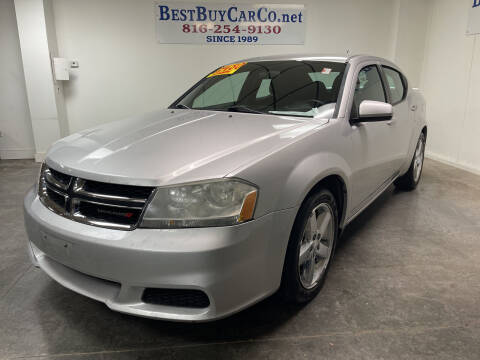 2012 Dodge Avenger for sale at Best Buy Car Co in Independence MO