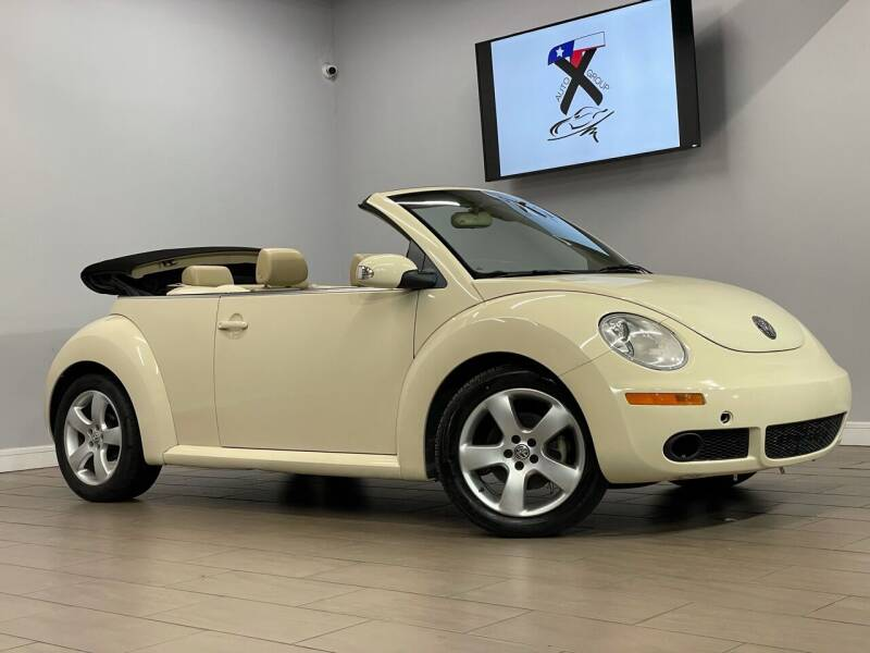 2006 Volkswagen New Beetle Convertible for sale in Houston, TX