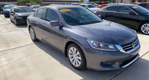 2015 Honda Accord for sale at A AND A AUTO SALES in Gadsden AZ