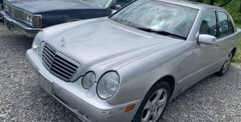 2002 Mercedes-Benz E-Class for sale at Trocci's Auto Sales in West Pittsburg PA