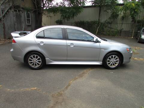 2012 Mitsubishi Lancer for sale at Nutmeg Auto Wholesalers Inc in East Hartford CT