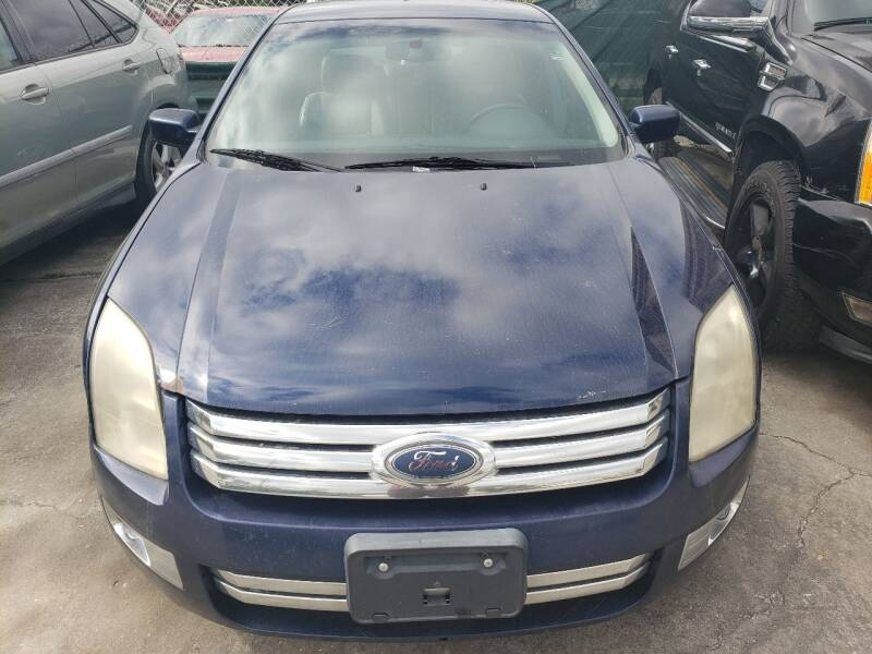2007 Ford Fusion for sale at Track One Auto Sales in Orlando FL