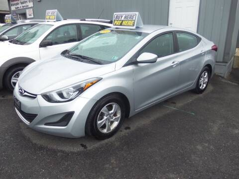 2014 Hyundai Elantra for sale at Fulmer Auto Cycle Sales - Fulmer Auto Sales in Easton PA