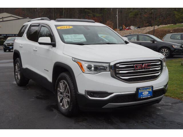 2019 GMC Acadia for sale at VILLAGE MOTORS in South Berwick ME
