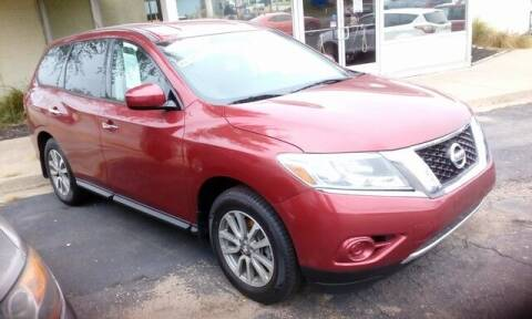 2014 Nissan Pathfinder for sale at Jim Clark Auto World in Topeka KS