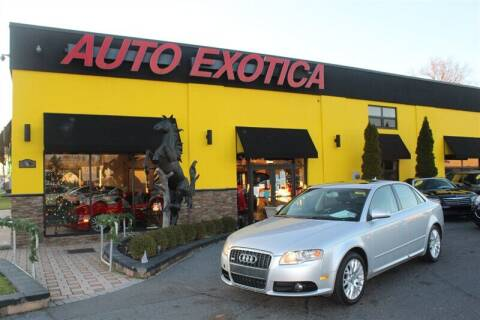2008 Audi A4 for sale at Auto Exotica in Red Bank NJ