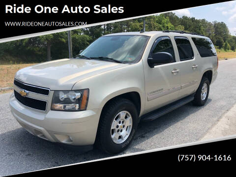 2007 Chevrolet Suburban for sale at Ride One Auto Sales in Norfolk VA