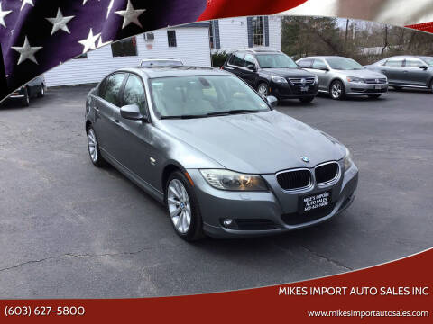 2011 BMW 3 Series for sale at Mikes Import Auto Sales INC in Hooksett NH