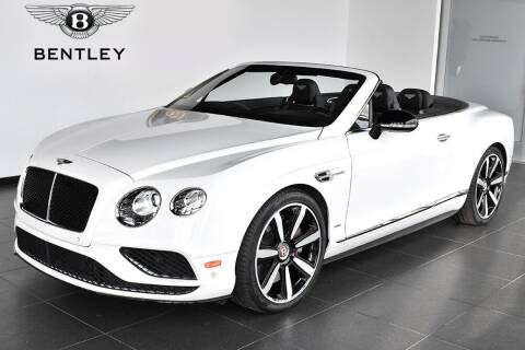 2016 Bentley Continental for sale at Bespoke Motor Group in Jericho NY
