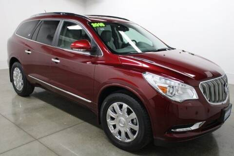 2016 Buick Enclave for sale at Bob Clapper Automotive, Inc in Janesville WI