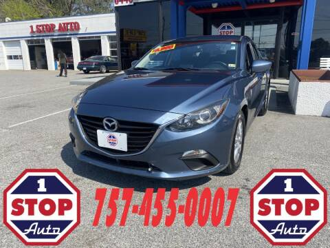2016 Mazda MAZDA3 for sale at 1 Stop Auto in Norfolk VA