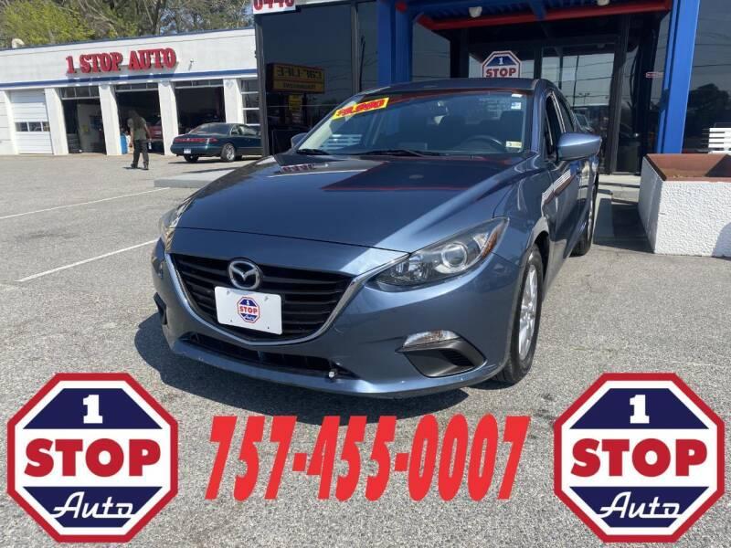2016 Mazda MAZDA3 for sale at 1 Stop Auto in Norfolk VA