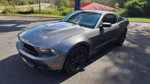 2010 Ford Mustang for sale at AMG Automotive Group in Cumming GA