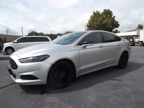 2015 Ford Fusion for sale at Cars R Us in Chanute KS