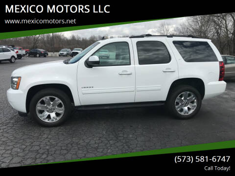 2013 Chevrolet Tahoe for sale at MEXICO MOTORS LLC in Mexico MO
