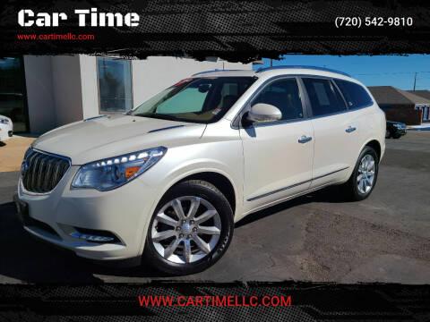 2014 Buick Enclave for sale at Car Time in Denver CO