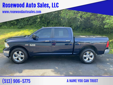 2015 RAM Ram Pickup 1500 for sale at Rosewood Auto Sales, LLC in Hamilton OH