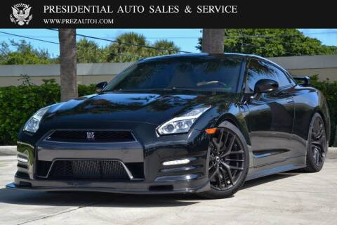 2015 Nissan GT-R for sale at Presidential Auto  Sales & Service in Delray Beach FL