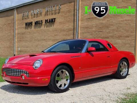 2003 Ford Thunderbird for sale at I-95 Muscle in Hope Mills NC