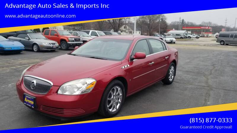 2008 Buick Lucerne for sale at Advantage Auto Sales & Imports Inc in Loves Park IL