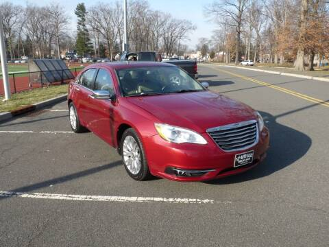 2012 Chrysler 200 for sale at TJS Auto Sales Inc in Roselle NJ