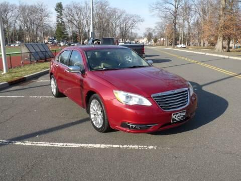 2012 Chrysler 200 for sale at TJS Auto Sales Inc in Roselle NJ