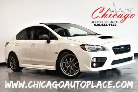 2016 Subaru WRX for sale at Chicago Auto Place in Bensenville IL